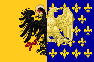 Flag of The Second Frankish Empire by AdriCureuil