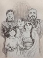 The Earldorman's Family by HelevornArt