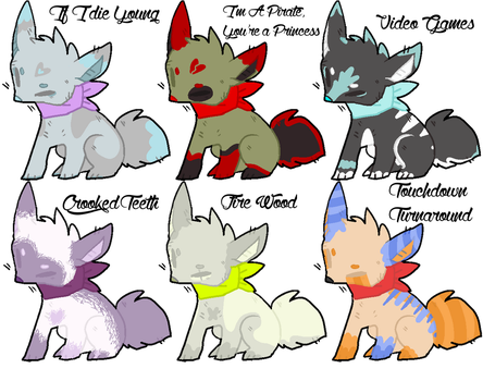 Mystery Song Adopts -CLOSED- by Kiraco-Ziieeria