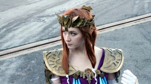 Princess Zelda Outside Shot #3 by geekypandaphotobox