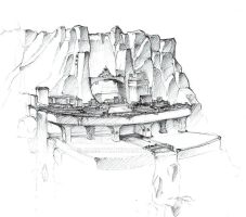 Mountain City by Gareath