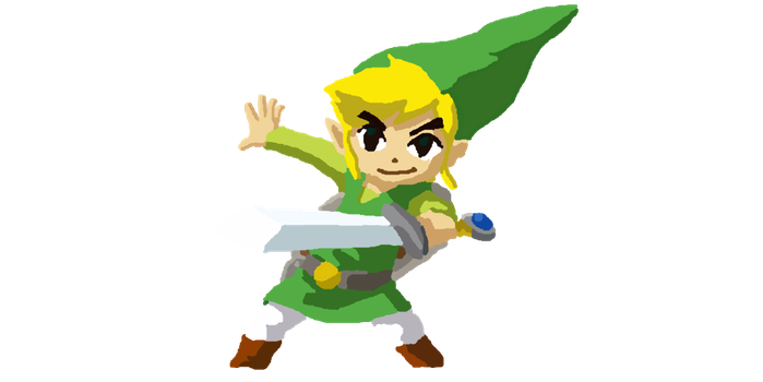 Toon Link by Ilovebookssomuch