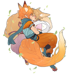 OTP:: Ninja Foxies by CookieHana