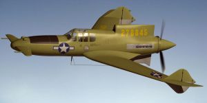 Curtiss XP 55 Ascender by Emigepa