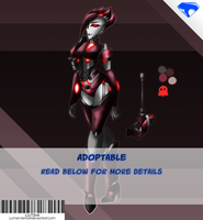 TFP Bounty hunter femme adoptable (taken) by Lumen-Terra