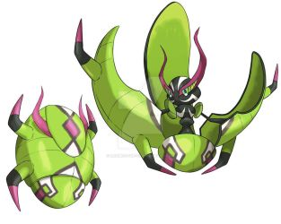 Bug Type Tapu Guardian by rjamez-the-v