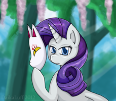 When Ponies Cry: Rarity by DaikaLuff