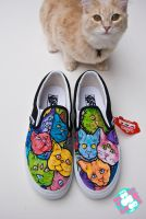 cat shoes by mburk