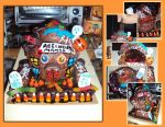 Haunted Manor Reelworks Cake by ToughSpirit