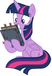 Excited Book Horse Noises [S7E25] by sonofaskywalker
