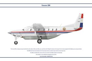 Cessna 208B Paraguay by WS-Clave