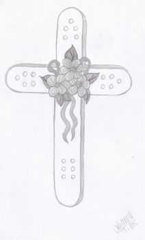Flowers and Crosses by osuwari4646