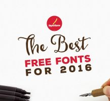 Best Free Fonts For 2016 by Layerform