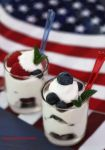 Berry Parfait for 4th of July Celebration by theresahelmer