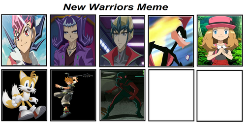 ZEXAL Warriors by MarioFanProductions