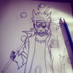 Old drawing of Naruto by InvisibleIS