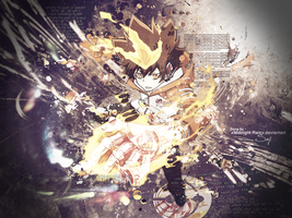 Hyper Mode Tsuna by xMidnight-Rainx