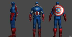 Captain America Avengers FF by SSingh511