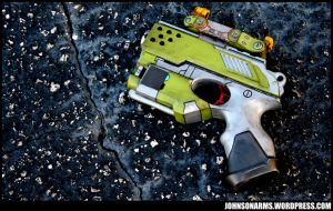 Borderlands 2 Themed Nerf Scout by JohnsonArmsProps