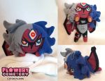 Yubel plush by Flowery-Cemetery