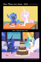 Some things never change - Cake by unknownbronynumber42