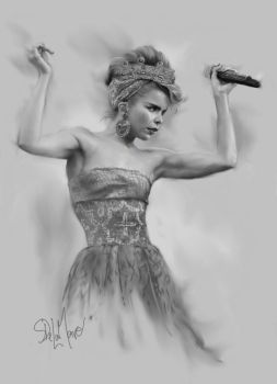 Paloma Faith by SteveDeLaMare