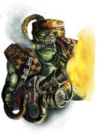 Ork Burna by paranoimiac