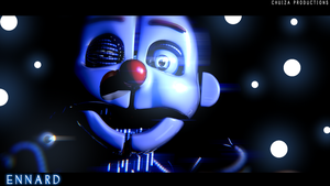 The Ennard Poster - [FNaF SL Blender] by ChuizaProductions