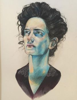 Eva Green as Vanessa Ives in Penny Dreadful by VikPiratenholz