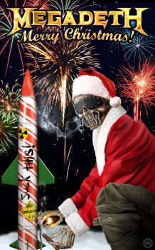 Megadeth Christmas Card 2012 by MtheRAVEN