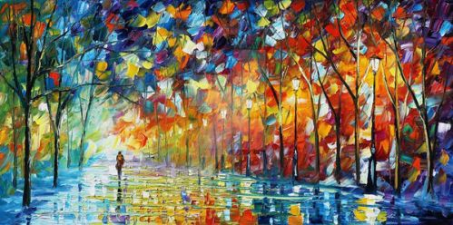 Love For Nature by Leonid Afremov by Leonidafremov