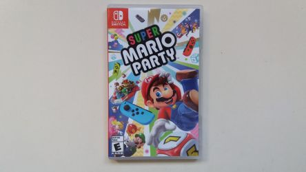 Super Mario Party Nintendo Switch by 95damian