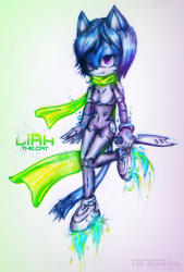 Liah the Cat by mixlou