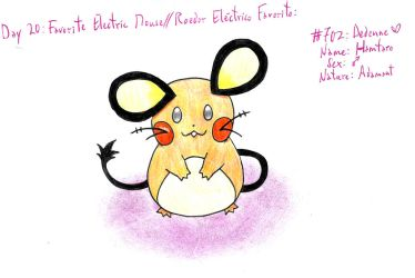 20 - My Favorite Electric Mouse by Hitomi-chan666