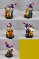 Olimar's Pikmin Army by ChibiSilverWings