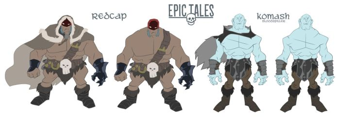 Epic tales Character sheet by Seanbahr