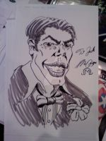 Joker commission at DCC 2010 by MarOmega