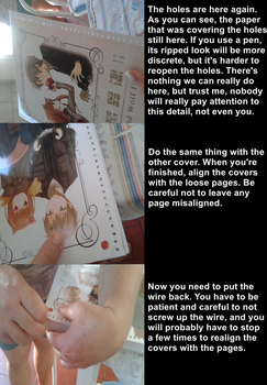 How to customize notebook covers PART 6 by MeSadChild