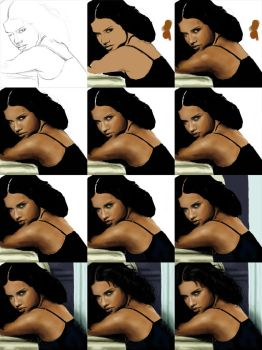 Adriana step-by-step by minix