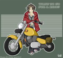 Want to go for a Ride by lev-en
