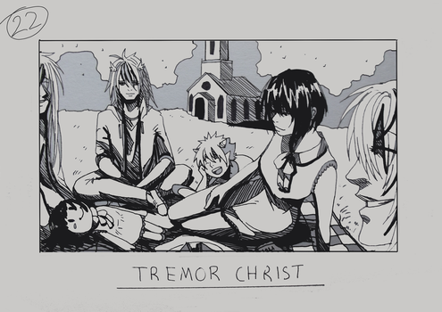 Day 22 - Tremor Christ by Inui-Purrl