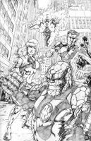 fantastic four 2 by santiagocomics