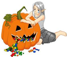Trick or Treated colored by WindHydra