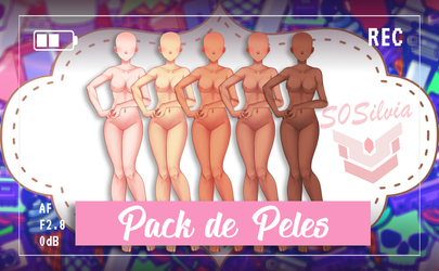 Amor Doce - Pack - Pele , Poses by S0Silvia