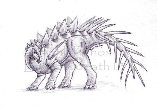 Kentrosaurus by Loved-to-Death13