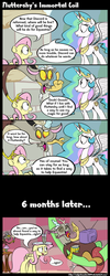 Fluttershy's Immortal Coil by SubjectNumber2394