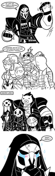 Another Dumb Overwatch Comic by MichaelJLarson