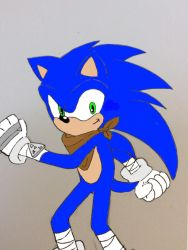 Sonic the hedgehog by Cocofangirl
