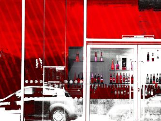 Red Bar by ClementVialettes
