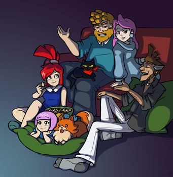 House of Jowd Movie Night by raygirl